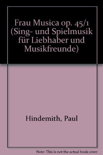 Frau Musica: Sing- und Spielmusik für Liebhaber und Musikfreunde. op. 45/1. Chor (MezBar) mit Flöte und Streichern. Violine I.