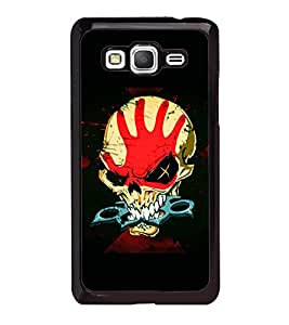 printtech Skull Knuckle Print Back Case Cover for Samsung Galaxy Grand Prime G530h