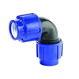 PE Rohr Verschraubung Winkel 90° 32 mm Trinkwasser