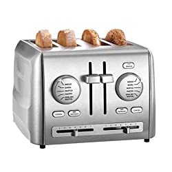 4 Slice Toaster : Cuisinart CPT-640 4-Slice Metal Toaster, Stainless Steel