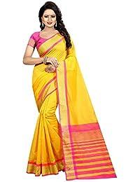 Vivera Enterprise cotton Silk sarees With Unstitched Blouse