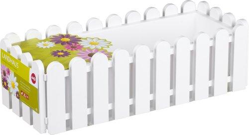 Emsa LANDHAUS Blumenkasten 50  cm  weiß, 1  Stück