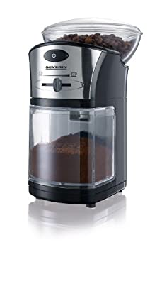 Severin Coffee Grinder Black/Silver from Severin