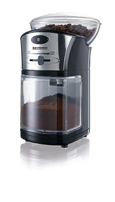 Severin Coffee Grinder Black/Silver by Severin