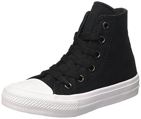 Converse Ctas Ii Hi, Sneakers Mixte Enfant, Noir (Black/White/Navy), 30