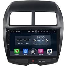 Octa Core 2GB de RAM 32GB flash Android 6.0GPS Multimedia para coche para Mitsubishi ASX 2010–2012WiFi BT GPS Navi Stereo Radio TV