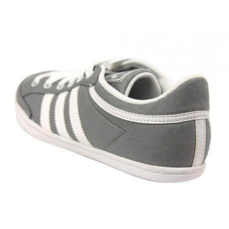 adidas Originals Plimcana Low K, Baskets mode mixte enfant Gris