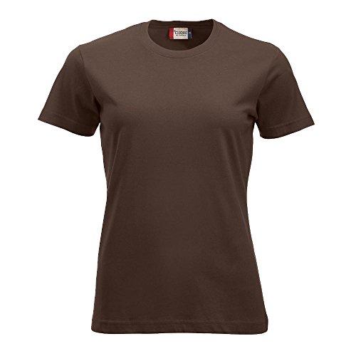 Clique - Damen T-Shirt 'New Classic-T' dark mocca (825)