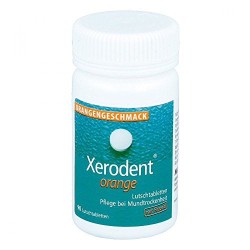 Xerodent Orange Lutschtabletten 90 stk (Lebensmittel, 90 Lutschtabletten)