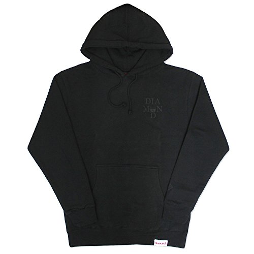 Diamond Supply Co Skull Hoodie Black Black