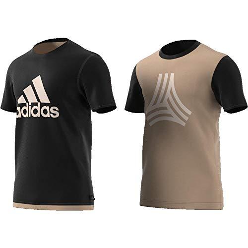 adidas Herren Tango Reversible Jersey Trikot, Black, L -
