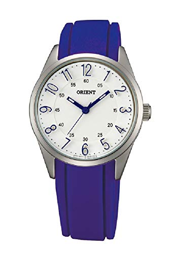 Orient Womens Analogue Quartz Watch with Rubber Strap FQC0R002W0