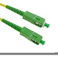 Câble à fibre optique SC/APC à SC/APC monomode simplex 9/125 20m