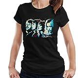 Photo de VINTRO T-Shirt Abba Side Profile Femmes Original Portrait par Sidney Maurer par VINTRO