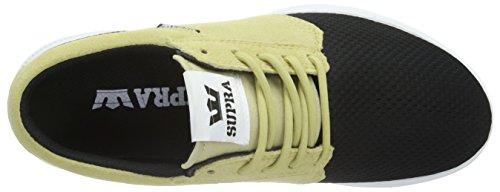 Supra Hammer Run, Baskets Basses Mixte Adulte Multicolore (HEMP / BLACK - WHITE HPB)