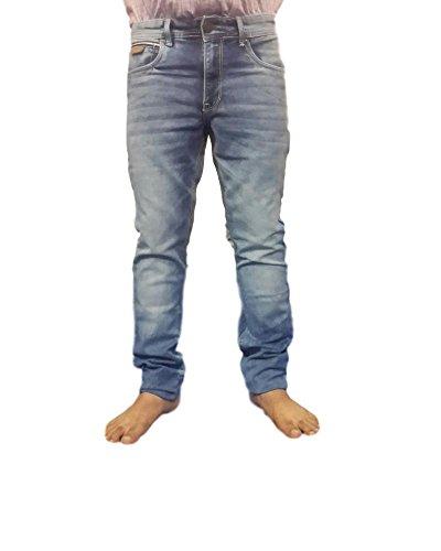 Super Dry Mens Denim Jeans(SD003_30_Blue)