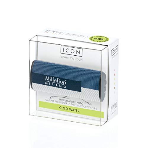 Millefiori Milano Car Air freshener Icon - Textile Geometric Cold Water New 2019