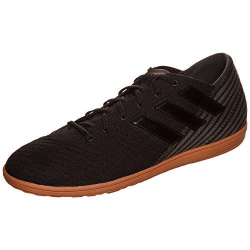 adidas Herren Nemeziz 17.4 in Sala Fußballschuhe Schwarz (Core Black/utility Black )