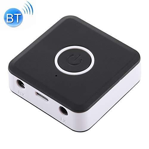 MKOKO 2 in 1 Bluetooth V4.2 Audio-Empfänger/Sender-Adapter Dauerhaft (Farbe : Black) (Heim-telefon-headset)