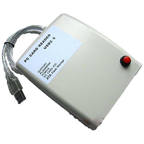 Jecxep USB2.0-Schnittstelle PCMCIA-Kartenleser , FLASH / DISK-Karte / ATA-Karte lesen -