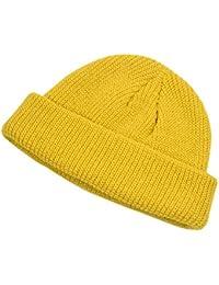Amazon.it  cappello lana - Giallo   Cappelli e cappellini ... 29f40349aabf