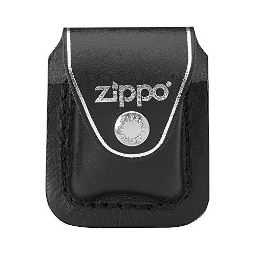 Zippo 1701006 Feuerzeug Lighter Pouch Black with Clip - Original Gürtel-holster