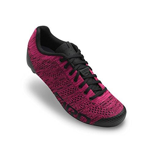 Giro Empire E70 Knit Damen Rennrad Fahrrad Schuhe pink/schwarz 2018: Größe: 43