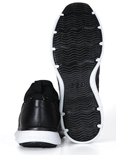 Hogan , Damen Gymnastikschuhe schwarz schwarz Schwarz