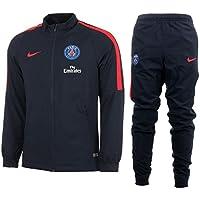 Nike PSG Y NK DRY TRK SUIT SQD K Tracksuit Paris Saint Germain for Unisex Children, Size