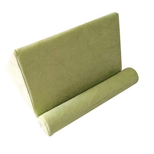 Leobtain Tablet Keilkissen, Tablet Sofa Tablet Kissen Tragbarer Tablet Ständer mit Weichem Dreieck Kann auf Dem Bettboden Verwendet Werden