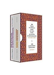 300 trucs et astuces pour ne plus faire de fautes d'orthographe & 500 expressions populaires : 2 volumes
