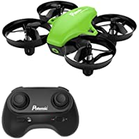 Potensic A20 Mini Drone avec Les Fonction sans Tête, Altitude Tenir, Deux Boutons pour Contrôler Décoller et atterrisser, Drone Cadeau-Blanc