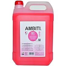 Ambiti Rinse 5 L. Aditivo para Cisterna, desinfecta la Taza del Water.