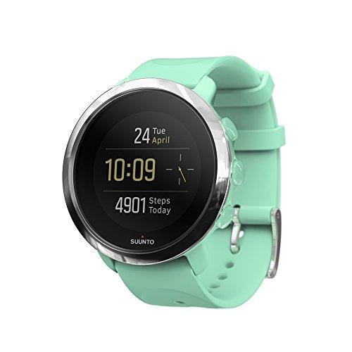 Suunto Fitness 3 - SS050051000 - Reloj Multisport con GPS y pulsómetro incorporado - Turquesa - Talla Única