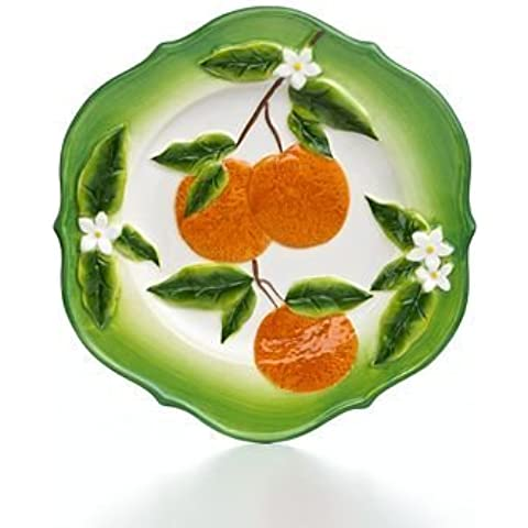 Martha Stewart Collection Serveware, Orange Salad Plate by Martha Stewart