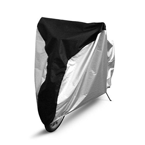 Ohuhu® Fahrradabdeckung 210D Oxford Tuch reißfest wasserdicht Fahrradschutzhülle Outdoor für Mountainbike/ Rennrad