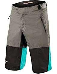 745bac6d2820f8 Alpinestars Pantaloni Corti MTB 2018 Tahoe Dark Shadow Nero Ceramic (34  Vita = EU 50