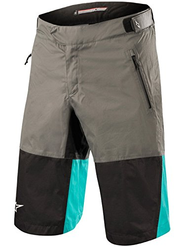 Alpinestars MTB Shorts 2018 Tahoe Dark Shadow Schwarz Ceramic (52 EU, Grau)
