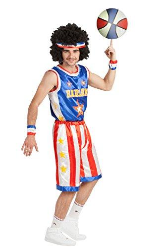 Spieler Kostüm Basketball - M-L Basketball Spieler Kostüm