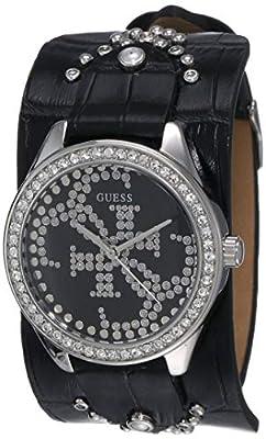 GUESS Heartbreaker Reloj de Mujer Cuarzo Correa de Cuero Caja de W1140L1