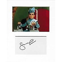 Scott Tracy–Shane Rimmer Genuine Authentic Hand autografata Aftal certificato di autenticità
