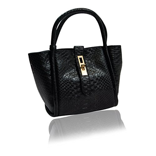 Handbag Krazy, Borsa tote donna Ink Black