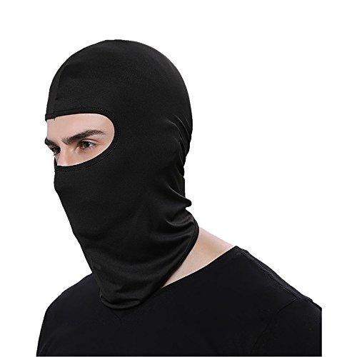itimo winddicht Ski Maske verstellbar Face Kopf Wärmer für Skifahren Bike Radfahren Wandern Motorrad Outdoor Sports (schwarz)