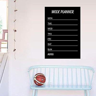 ShopSquare64 Umwelt PVC Lehre Tafel Abnehmbare Tafel Aufkleber Schreiben Woche Planer Home Decor von ShopSquare64 - Gartenmöbel von Du und Dein Garten
