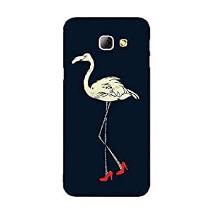 Back cover for Samsung Galaxy A3 2016 High Heel Swan