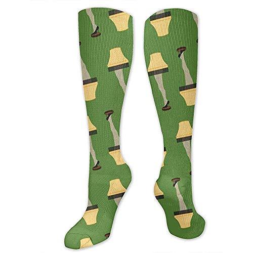 ELIST Weihnachten Retro Bein Lampe Compression Socks für Männer und Frauen-Best Stockings