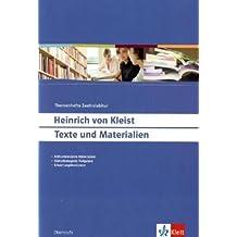 Heinrich von Kleist: Texte und Materialien (Themenhefte Zentralabitur)