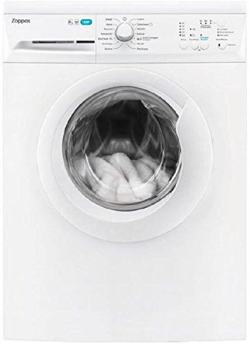 Zoppas PWN 81041 A freestanding Front-load 8kg 1000RPM A+++ White washing machine - Washing Machines (Freestanding, Front-load, White, Left, White, Stainless steel)