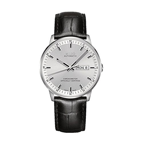 Mido Men's Automatic Watch with Black Dial Analogue Display Leather M0214311603100