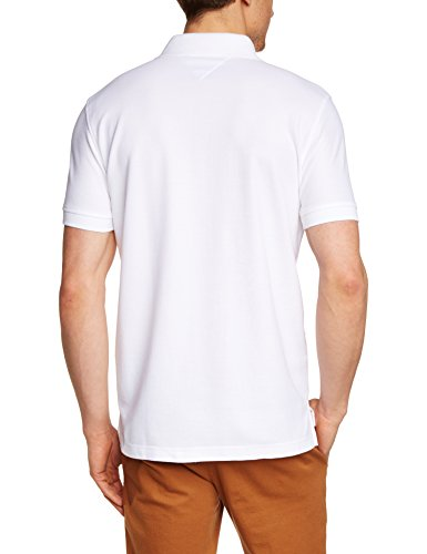 Tommy Hilfiger Herren Poloshirt 50/2 Performance Polo S/S Rf Weiß (CLASSIC WHITE 100)